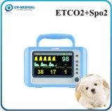 De veterinaire Draagbare Geduldige Monitor Etco2 van het Tafelblad met SpO2&Etco2
