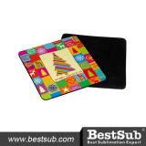 Bestsub Personalizado Sublimación Coaster de goma de la taza (SB68-6S)