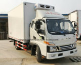 De Gekoelde Bestelwagen van het nieuw-Ontwerp JAC 4X2 de Vrachtwagen van de Diepvriezer van 5 T