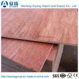 La chapa de Bintangor del pegamento de la alta calidad E1 hizo frente a la madera contrachapada para los muebles