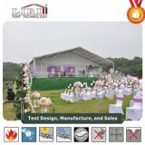 As guarnições de decoração de casamento & cortinas Marquee tenda para 200 pessoas