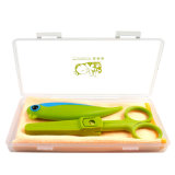 La Cina Factory Ceramic Pocket Knife Set con Food Scissors