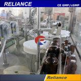 Veterinaria de la botella de líquido de la inyección automática de llenado y tapado máquina