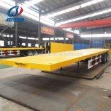 Het volledige Flatbed Type van Aanhangwagen trekt de Aanhangwagens van de Lading van de Staaf/de Aanhangwagen van de Doos voor Verkoop