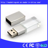 Unidade Flash USB de cristal (USB 2.0)