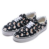 MaleまたはFemalのための方法Design Yellow Floral Espadrilles Canvas Shoes