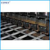 Сварочный аппарат панели ячеистой сети тавра Conet полуавтоматный усиливая (HWJ3000 с линией проводом и перекрестным проводом 5-12mm)