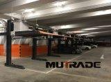Impilatore idraulico dell'automobile del doppio elevatore livellato di parcheggio dei 2 alberini