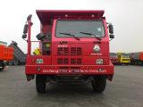 Autocarro con cassone ribaltabile di estrazione mineraria delle rotelle 6X4 di HOWO 10 Cnhtc Zz5707s3840aj