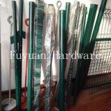 Peint en vert clôture cloutés T type Post (l'Amérique)