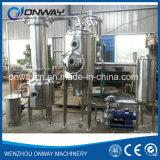 Destilaria alaranjada de circulação forçada industrial eficiente elevada da água do vácuo do evaporador do aço inoxidável de preço de fábrica