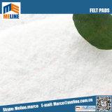 Hot Vente de l'aiguille de polyester blanc perforé feutrine, feutrine utiliser pour le remplissage de matelas