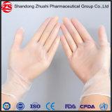 Устранимые перчатки винила медицинского осмотра освобождаются/голубые перчатки PVC