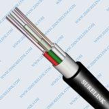 Câble optique fibre optique blindé à bande d'acier Sm