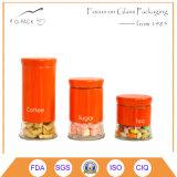 1L conteneurs de verre pour les pâtes, du café, sucre, thé, OEM de stockage disponible