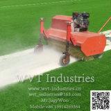 Спорт футбольное поле искусственных травяных песок/EPDM Резиновые частицы гранул падение машины/Comber Brusher разбрасывателя на поле для синтетических поддельные лужайке