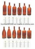 bottiglia di vino di vetro ambrata 500ml dalla fabbrica