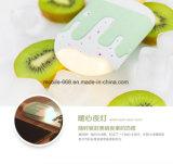 Batería de la potencia de la historieta de la fábrica del helado con la luz del LED