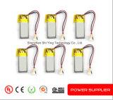Bateria 503040 do polímero do lítio da bateria recarregável 3.7V 500mAh da alta qualidade do OEM