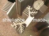 Profil en aluminium/aluminium extrudé pour dissipateur thermique en aluminium industriel (RAL-219)