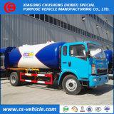 ディスペンサーが付いている工場製造者6mt LPGのガスタンクのトラック12000L 12m3 LPGのBobtail