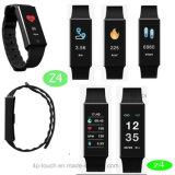 De gezonde Slimme Armband Bluetooth van de Vertoning met het Tarief van het Hart (Z4)