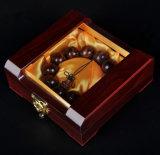 De houten Ketting die van het Brood Doos met Venster toont