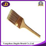 Escova de pintura de madeira do punho da cor natural