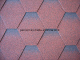Mosaik-Asphalt-Schindeln für Hotel-hölzernes Dach für Indien
