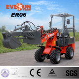 Everun Er06 Agricultral Ce/Euro 3과 액체정역학 시스템을%s 가진 농장에 의하여 분명히 말하는 중국 소형 바퀴 로더 Zl06