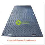 Der schwarzen Farben-wasserdichtes UHMWPE Bodenmaterial des schutzsystem-Mats/HDPE für Europa