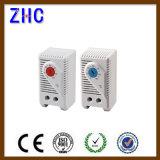 Spoor 35mm van DIN de Vaste 12V 24V 220V 250V Onverwachte Thermostaat van het Kabinet van de Controle van de Temperatuur van de Actie Regelbare Bimetaal voor de Ventilator van de Filter