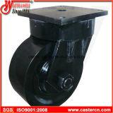 ExtrahochleistungsKingpinless Schwenker-Fußrolle mit Hochleistungs--Rad