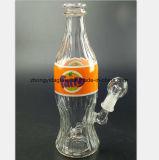 Conduite d'eau de verre à bouteilles de coca-cola pour la reprise de tabac de filtre