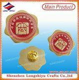 L'OEM progetta il distintivo per il cliente di Pin della lega del bollo della guarnizione del metallo