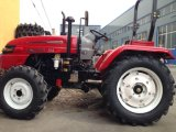 4WD 45HP de Tractor van de Landbouw met VoorLader/Backhoe