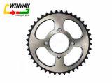 Ww-5512 A3 OEMの車輪、428-41tオートバイのスプロケット