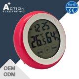 لمس يثبت ساعة مصغّرة مع درجة حرارة & رطوبة لأنّ ترقية