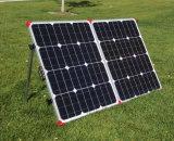 Mono Portable 120W che piega comitato solare per il campeggio con il caravan