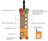F24-8d Telecraneの産業無線の遠隔操作システム