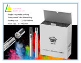 Sigaretta a gettare del vaporizzatore del LED della penna di vetro chiara E di Cbd Thc Vape