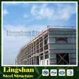 Lange Lebensdauer-große Überspannungs-Aufbau-lange Überspannungs-Stahlkonstruktion-Fabrik