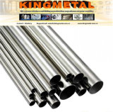 Espejo pulido 201/304 tubos de acero inoxidable para la decoración ASTM A554.
