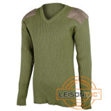 Pullover militare del maglione con il cotone/poliestere di qualità superiore