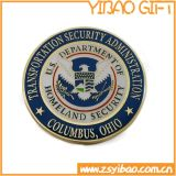 Monnaie en cuivre d'or militaire personnalisée, pièce de défi (YB-Co-04)