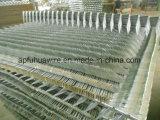 Гальванизированные спайки стены бритвы для обеспеченности