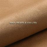Tessuto 100% della pelle scamosciata del poliestere del filo di ordito della pelle scamosciata di alta qualità del fornitore della Cina per gli indumenti delle donne