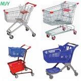 Supermarkt-MetallEinkaufswagen von 60liters zu 275 Litern
