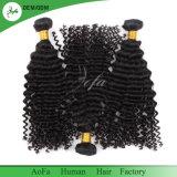Commerce de gros de 100 % de l'homme péruvienne Remy Hair vague profonde de la trame