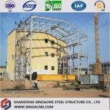 Ce сертифицированных профессиональных тяжелых Сборные стальные конструкции здания на заводе